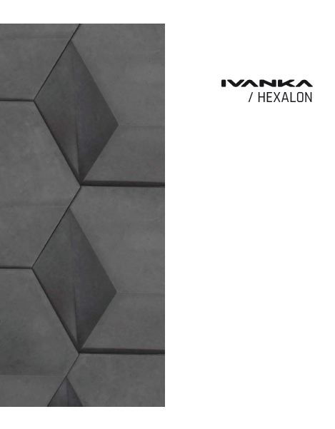 Concrete Panels & Tiles - Ivanka